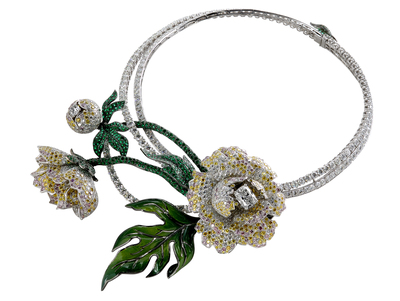 Boucheron - Collier Botane