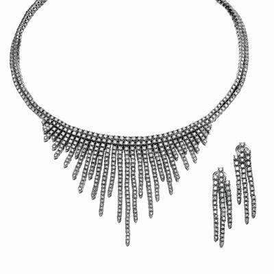 Damiani - Frozen Necklace and Earrings