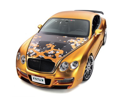 Золотой Bentley Continental GT от ASI / Golden Bentley Continental GT by ASI
