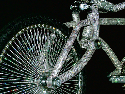 Велосипед от Ben Wilson. И снова Swarovski / The bicycle by Ben Wilson – again with Swarovski crystals